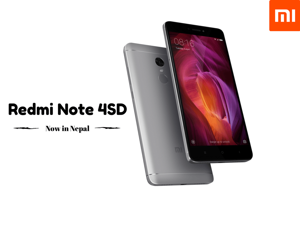 Xiaomi Redmi Note 4sd Now Available In Nepal